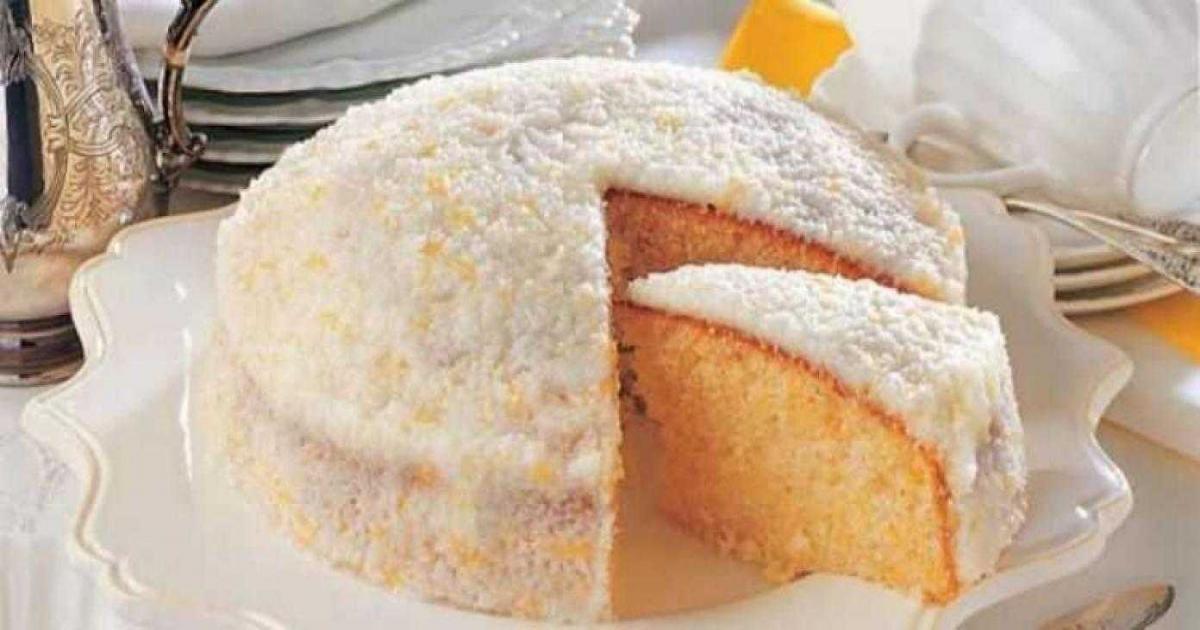 bolo de coco ensopado